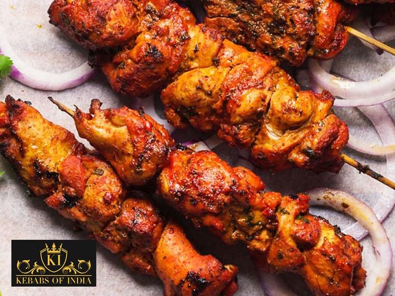 Chicken Tikka Kebab by Kebabs of India